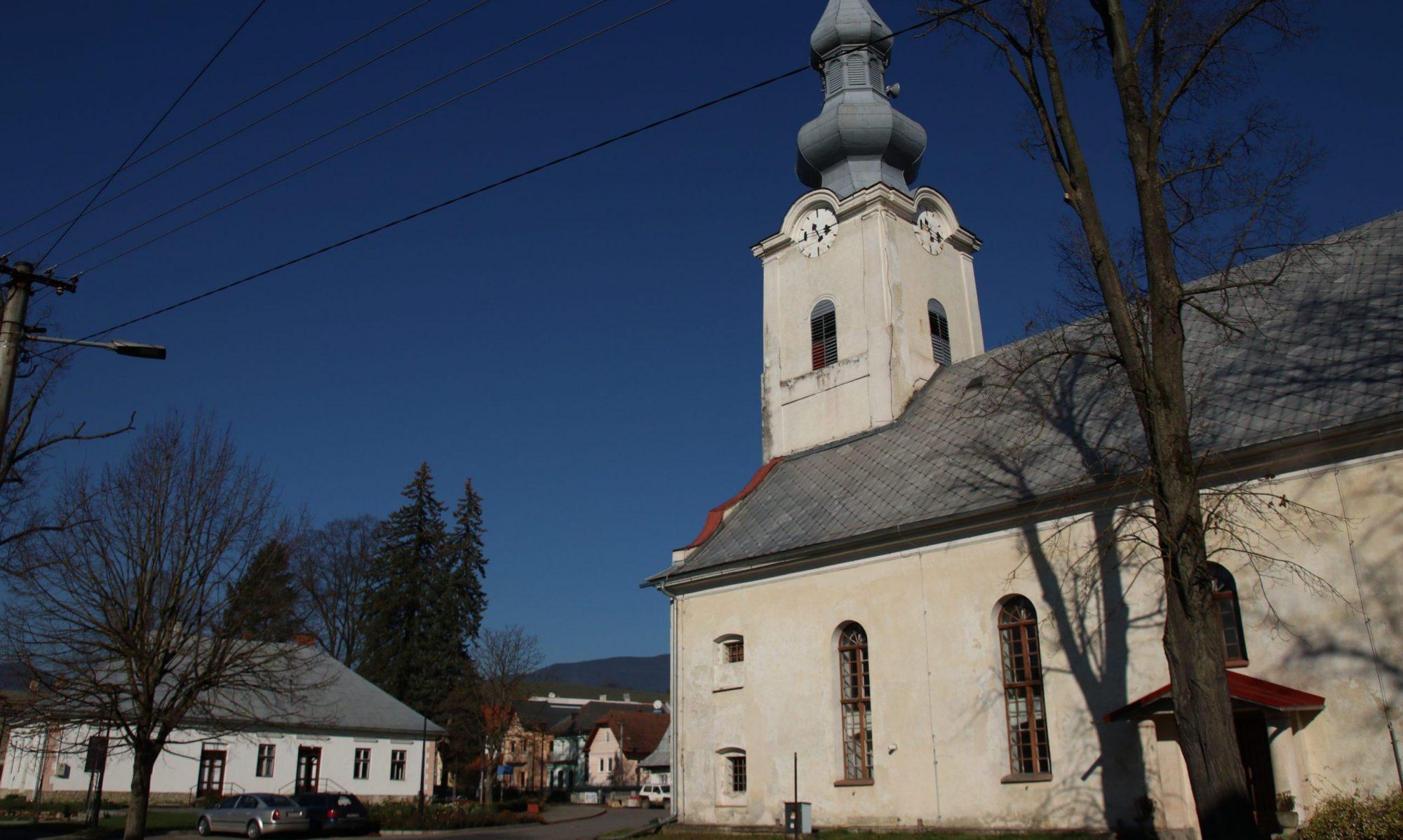 Cirkevný zbor ECAV na Slovensku Veličná